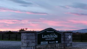Holidays in Scotland - Lochlands Caravan Park, Angus