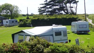 Happy campers - The Camping Field