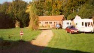 Picture of The Garden Caravan Site, Norfolk, East England - Our reception block