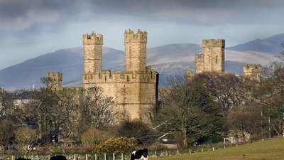 Caernarfon Castle - Nearby castle