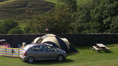 Howgill Lodge Touring Park - Visit the Yorkshire Dales for a wonderful walking, cycling and camping holiday and stay at Howgill Lodge (© Howgill Lodge)