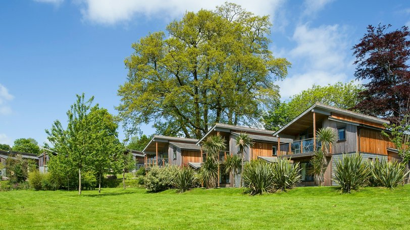Luxury holiday lodges in Cornwall - Woodland Lodges with stunning views