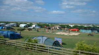 Campsite at Trevean