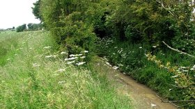 Lowick- footpath and former ironstone railway cutting  (© © Copyright John Sutton (https://www.geograph.org.uk/profile/38492) and licensed for reuse (https://www.geograph.org.uk/reuse.php?id=3015789) under this Creative Commons Licence (https://creativecommons.org/licenses/by-sa/2.0/).)