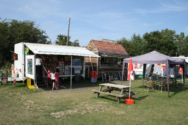 Find refreshment at Park Farm Caravan and Camping in East Sussex