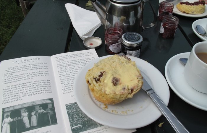 Scones and orchard tearoom history