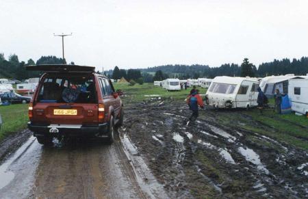 Caravan Out Of Mud