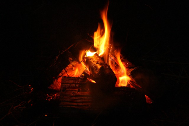 Campfires are permitted at Park Farm in East Sussex