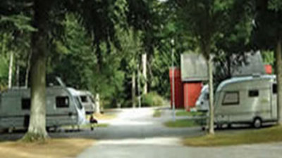 Tourers on the caravan park - An image presenting Haughton Caravan Park