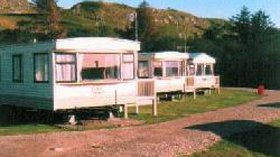 Our static caravans on the site