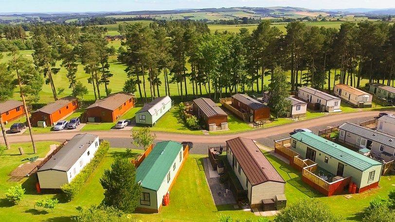 Holidays in the Scottish Borders - Lilliardsedge Holiday Park & Golf Club, Roxburghshire