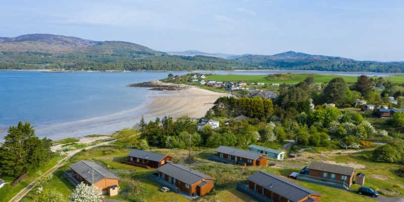 Holidays in Dumfries and Galloway - Sandgreen Caravan Park, Scotland