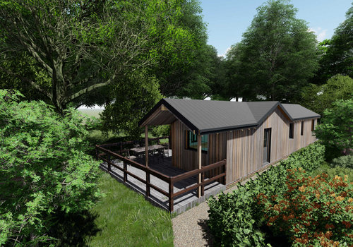 Photo of Holiday Home/Static caravan: Luxury eco holiday homes