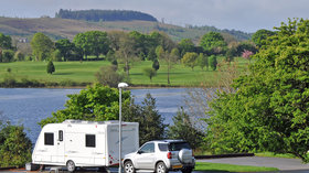Touring field - Book your next camping holiday at Rushin House Caravan Park in Northern Ireland with Caravan Sitefinder (© Rushin House Caravan Park)