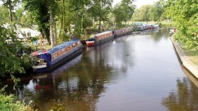 The Grand Union Canal at Barrow upon Soar  (© © Copyright Eirian Evans (https://www.geograph.org.uk/profile/4582) and licensed for reuse (http://www.geograph.org.uk/reuse.php?id=238763) under this Creative Commons Licence (https://creativecommons.org/licenses/by-sa/2.0/).)