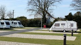 Brompton Fields Touring Caravan Area (© Jasmine Caravan Park Ltd)