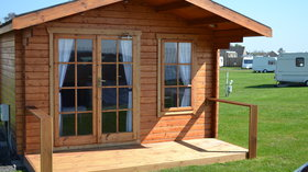 Glamping cabins - Another of the Glamping Cabins