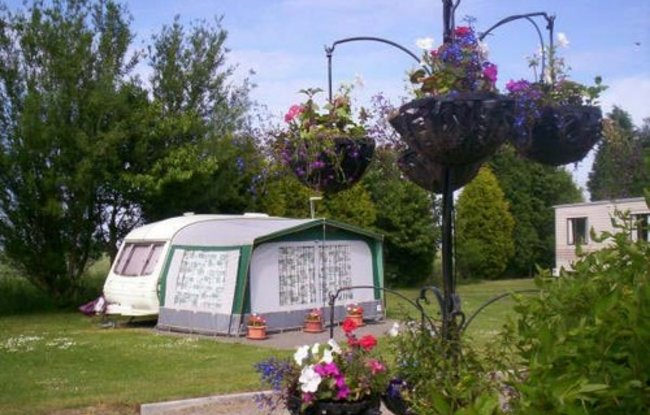 Picture of Orchard View Caravan & Camping Park, Lincolnshire, Central North England - The touring field