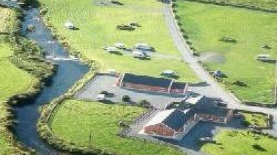 Picture of OConnors Riverside Camping and Caravan Park, Clare - View from the top on the caravan park