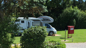 Tourers on the park