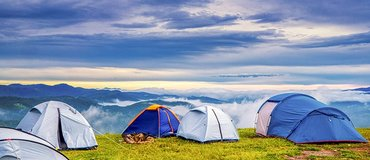 Beginner's Guide to Camping - A campsite with a view