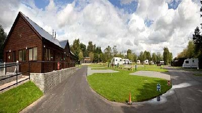 Picture of The Firs Farm Caravan Park, Derbyshire, Central North England - Photo of the view on The First Caravan Club Site