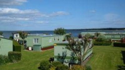 Holiday homes on the caravan park