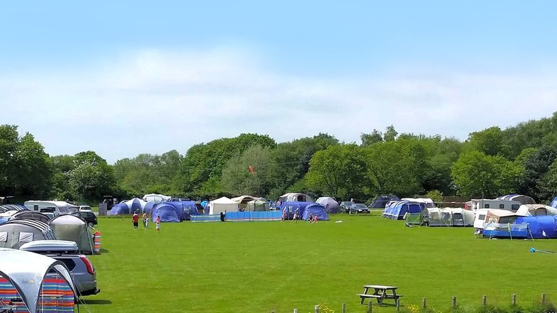 Holiday park in East Sussex - Chestnut Meadow Camping & Caravan Park