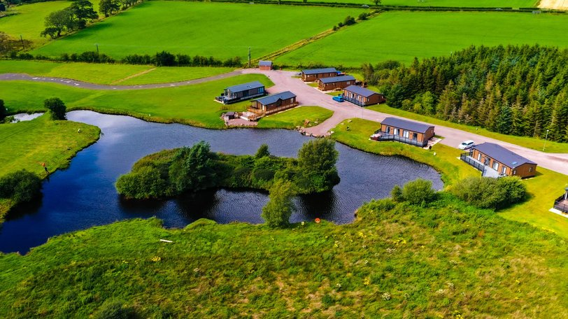 Holidays in Dumfries & Galloway - Westlands Country Park Annan