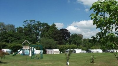 Picture of Riverside International Caravan & Camping Park, Powys, Wales