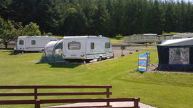 Tourers on the caravan park