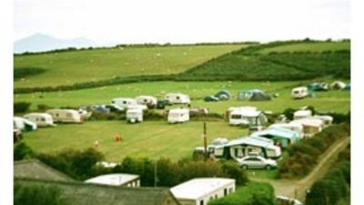 On the site - Touring and static caravans at Nant-Y-Big Park