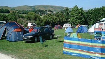 Camping and caravanning at Herston Caravan & Camp Site