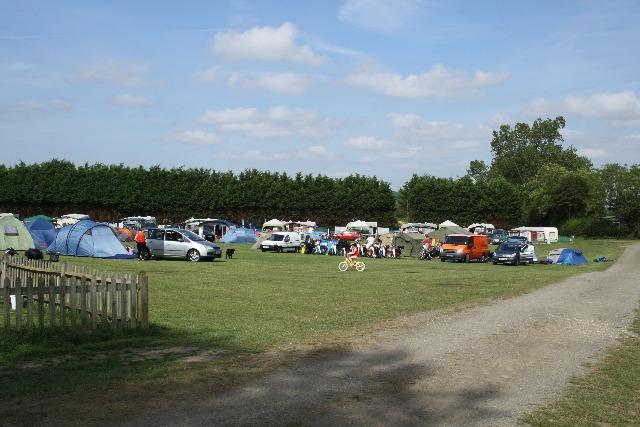 Caravan Sitefinder on Park Farm Caravan and Camping in East Sussex