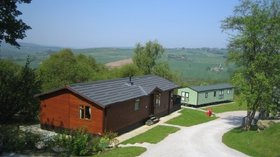 Lodges on the site