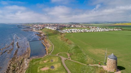 Holidays in Fife - St Monans Holiday Park