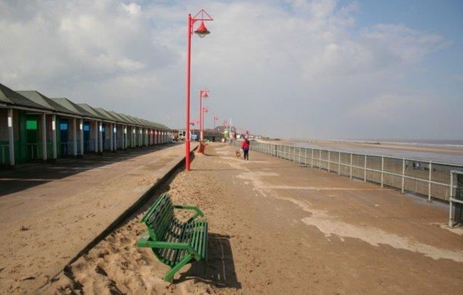 Mablethorpe promenade