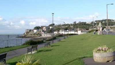Photo of Warrens Holiday Park in distance