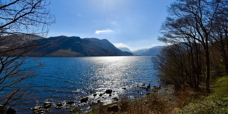 The Lake District - Ullswater, said to be England's most beautiful lake.